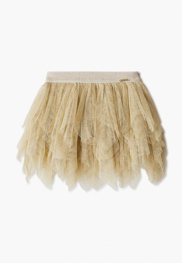 юбка sarabanda для девочки, золотая