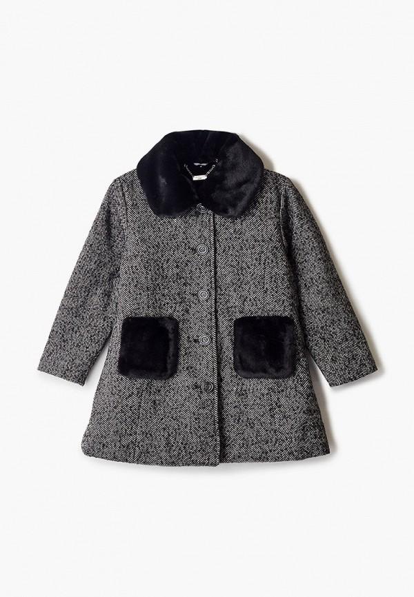 пальто sarabanda для девочки, серое