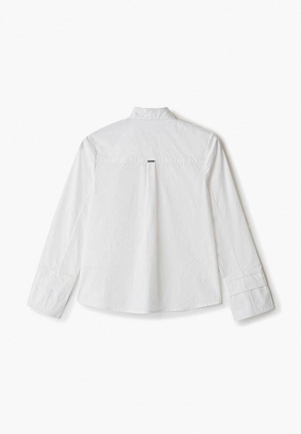 Рубашка для девочки Sarabanda цвет белый  Фото 2
