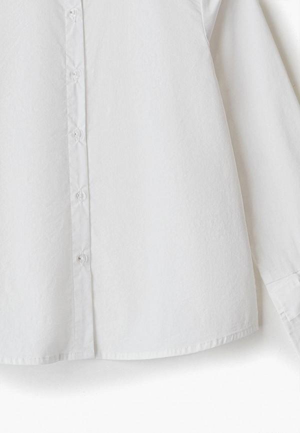 Рубашка для девочки Sarabanda цвет белый  Фото 3