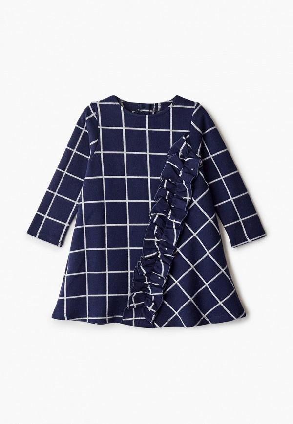 повседневные платье sarabanda для девочки, синее