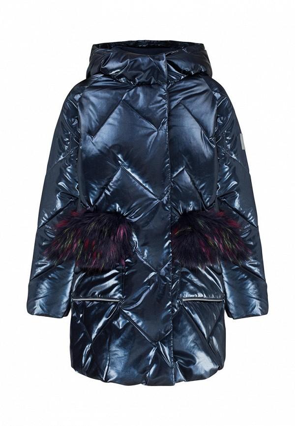 утепленные куртка смена для девочки, синяя