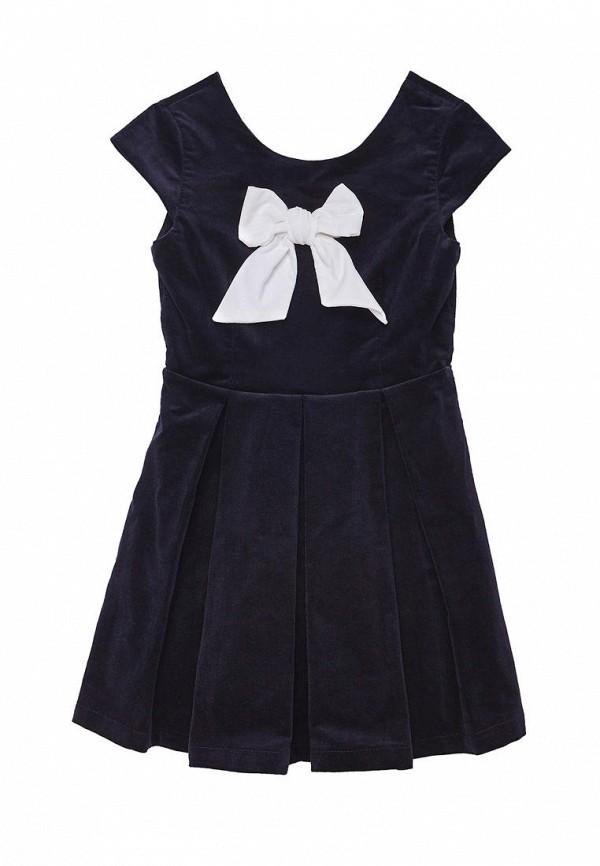 повседневные платье cookie для девочки, синее