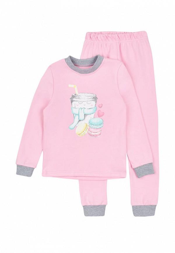 пижама robinzon для девочки, розовая