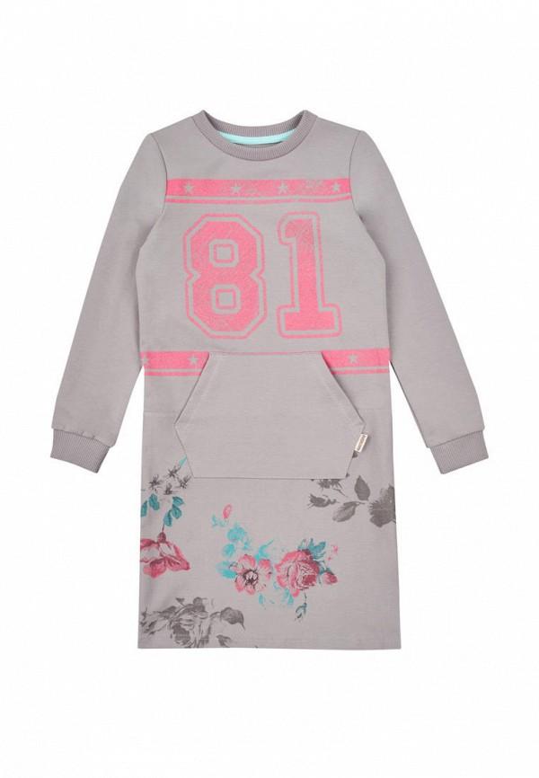 повседневные платье robinzon для девочки, бежевое