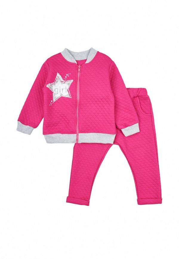 спортивный костюм вітуся для девочки, розовый