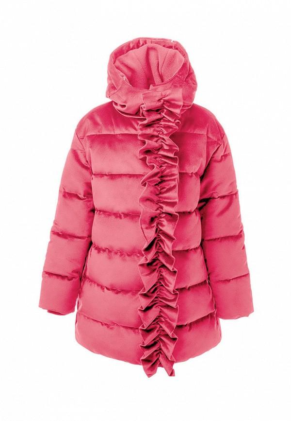утепленные куртка смена для девочки, розовая