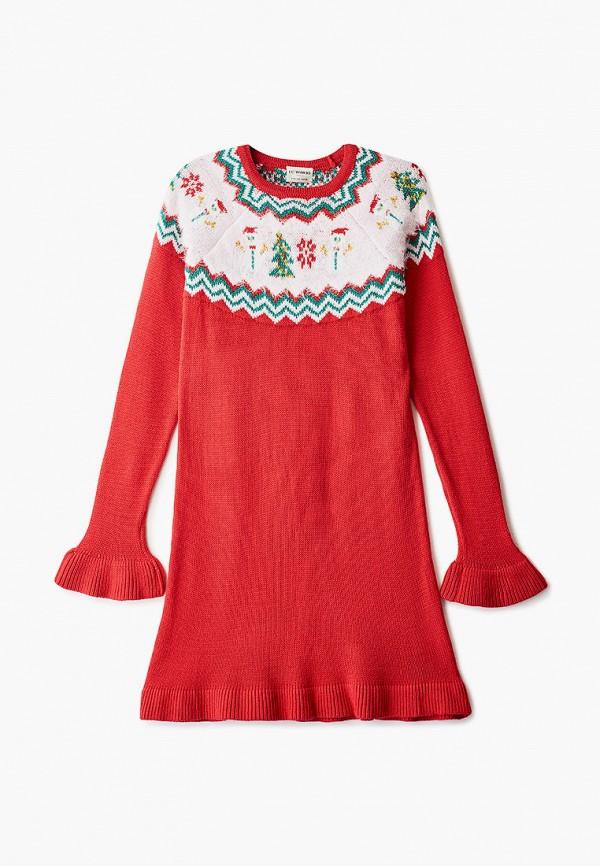 повседневные платье lc waikiki для девочки, красное