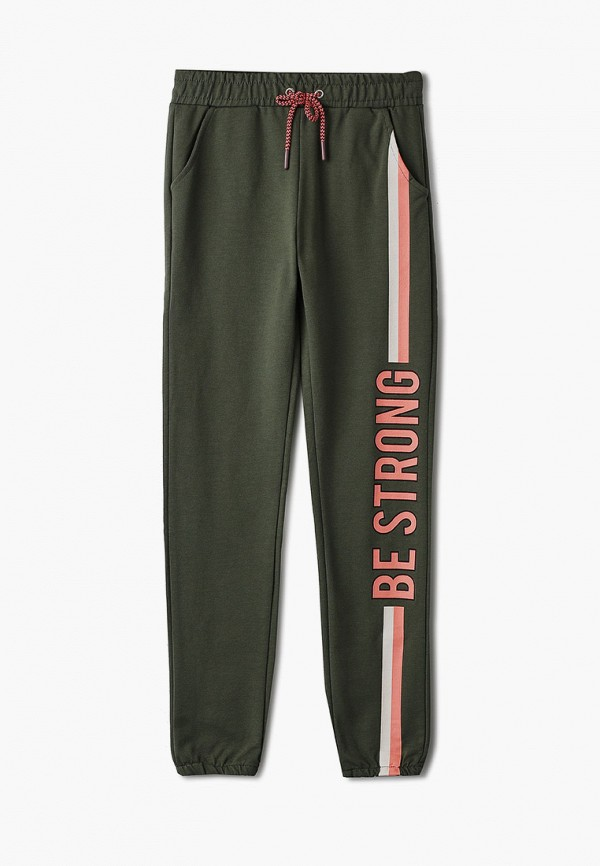 брюки lc waikiki для девочки, зеленые