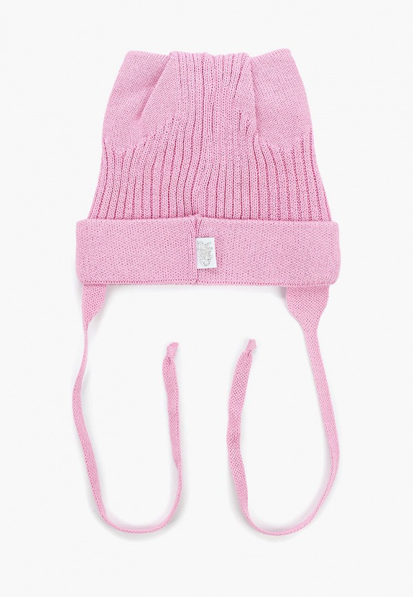 Шапка детская Чудо-кроха цвет розовый  Фото 2