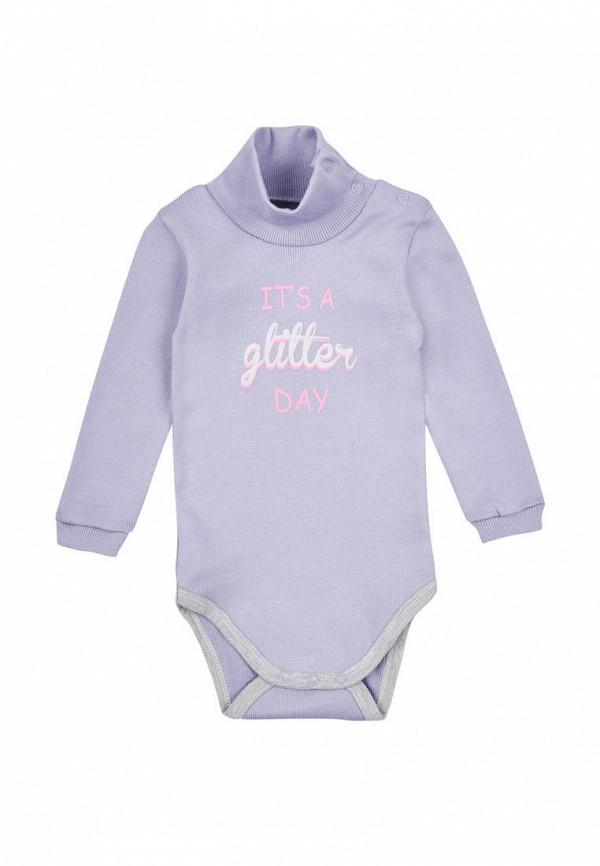боди фламинго текстиль для девочки, фиолетовые