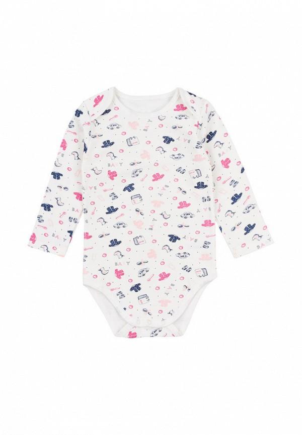 боди фламинго текстиль для девочки, бежевые