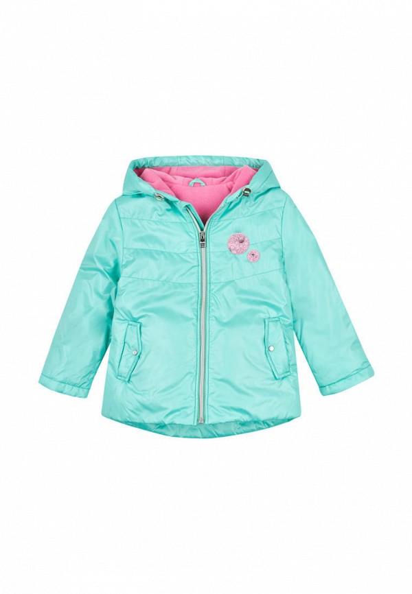 куртка бемби для девочки, голубая