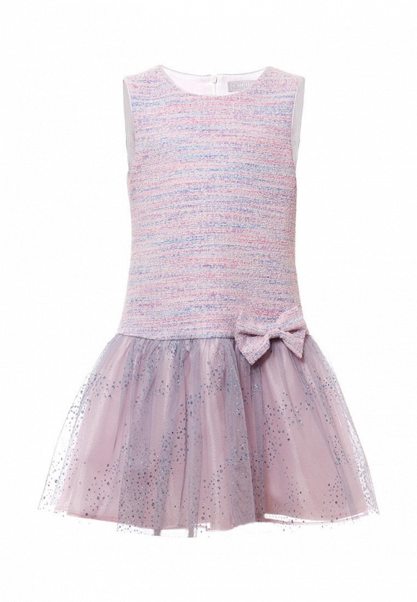 нарядные платье смена для девочки, розовое