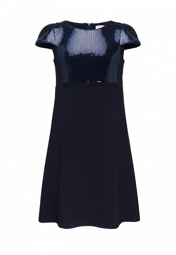нарядные платье смена для девочки, синее
