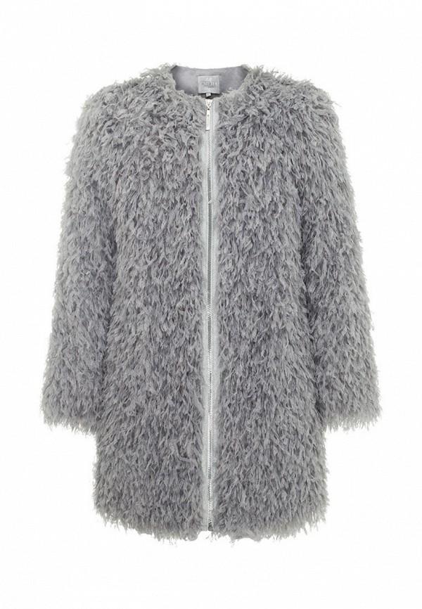 пальто смена для девочки, серое