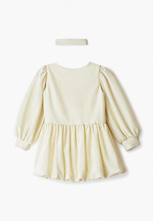 нарядные платье archyland для девочки, золотое