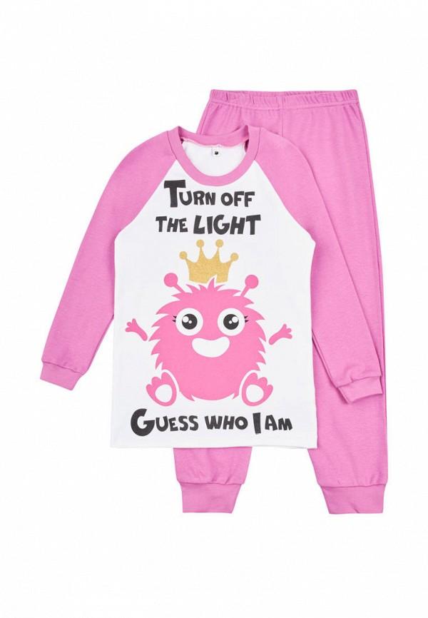 пижама garnamama для девочки, розовая