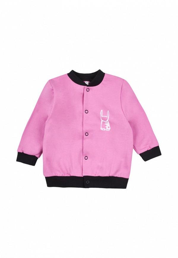 олимпийка garnamama для девочки, розовая