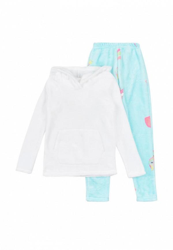 костюм фламинго текстиль для девочки, разноцветный