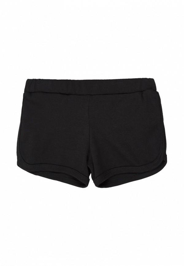 шорты фламинго текстиль для девочки, черные