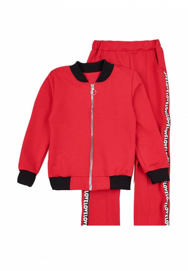 спортивный костюм вітуся для девочки, красный
