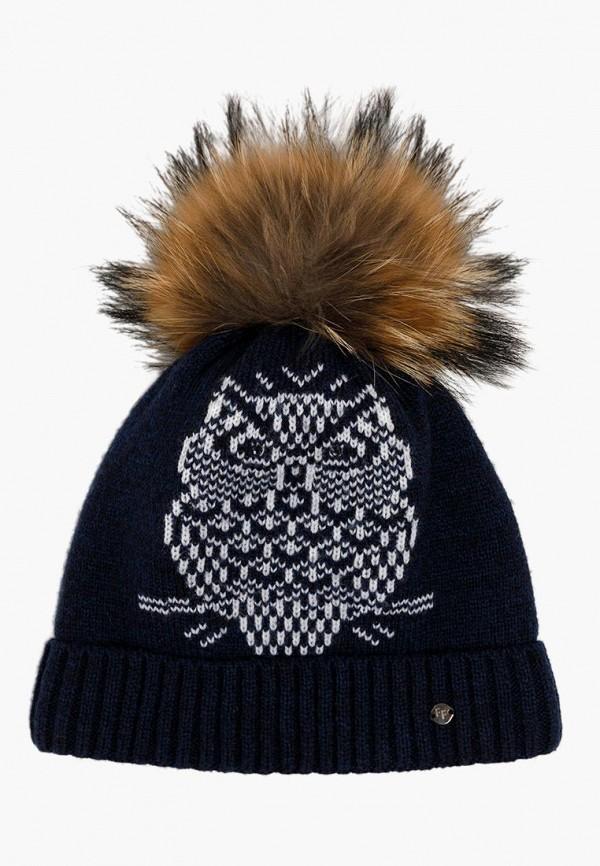 шапка finn flare для девочки, синяя