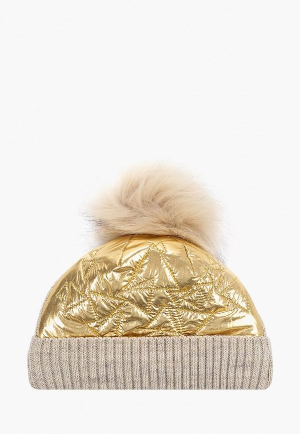 Шапка детская Чудо-кроха цвет золотой