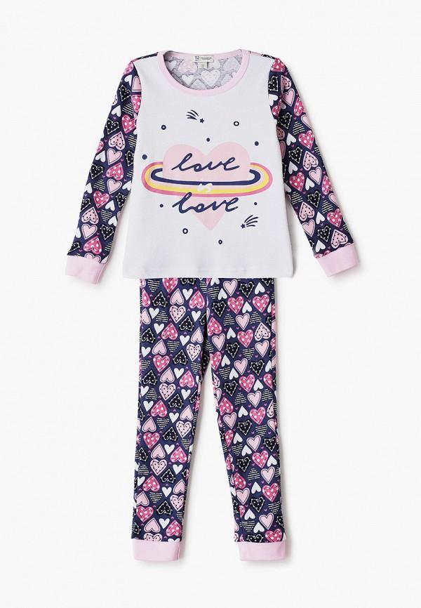 пижама trenders для девочки, разноцветная