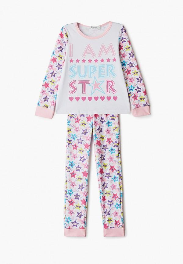 пижама trenders для девочки, белая