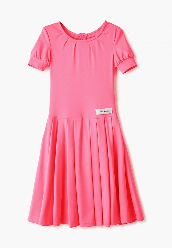 повседневные платье altranatura для девочки, розовое