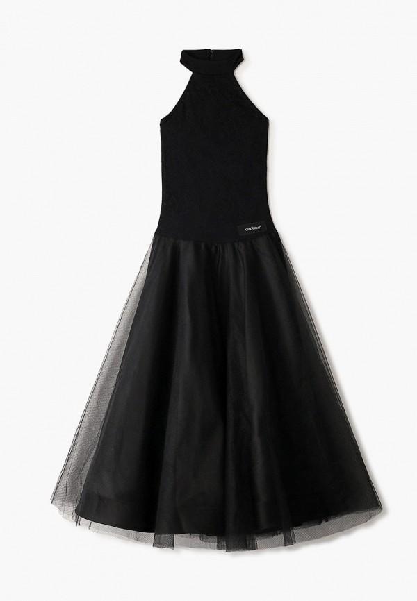 повседневные платье altranatura для девочки, черное