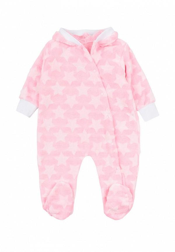 комбинезон малыш style для девочки, розовый