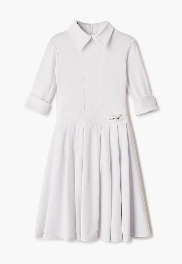 нарядные платье altranatura для девочки, белое