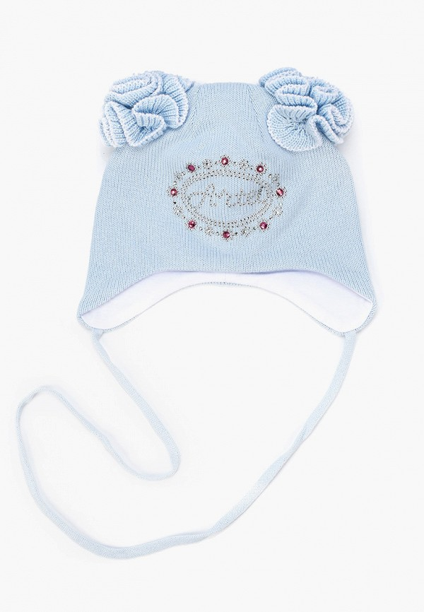 шапка artel для девочки, голубая