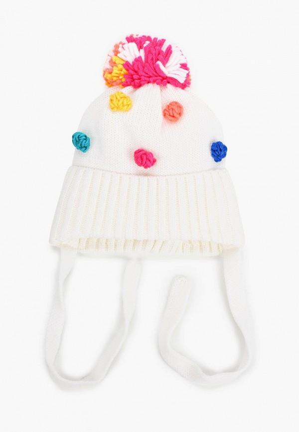 шапка artel для девочки, белая