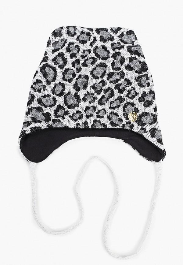 шапка artel для девочки, серая