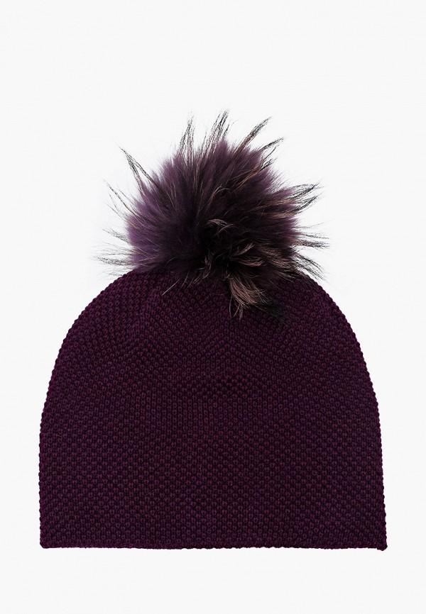 шапка artel для девочки, фиолетовая
