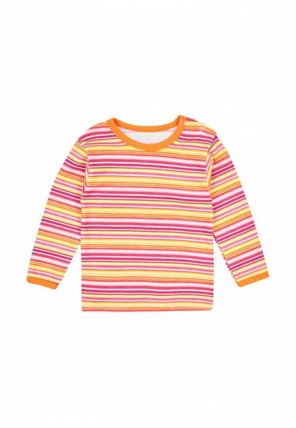 лонгслив малыш style для девочки, разноцветный