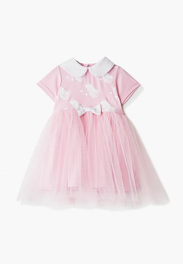 нарядные платье trendyco kids для девочки, розовое