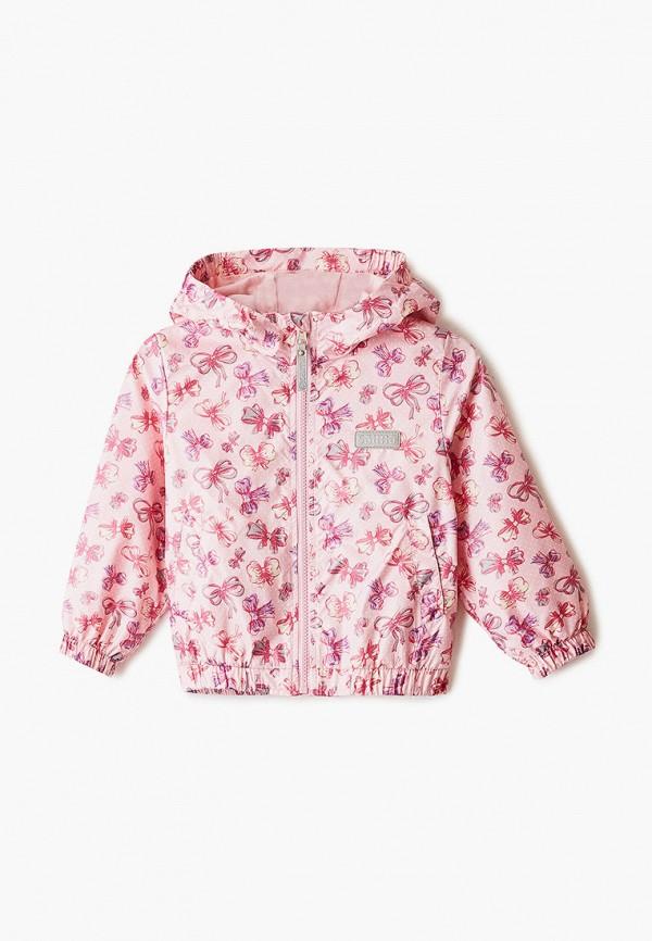легкие куртка saima для девочки, розовая