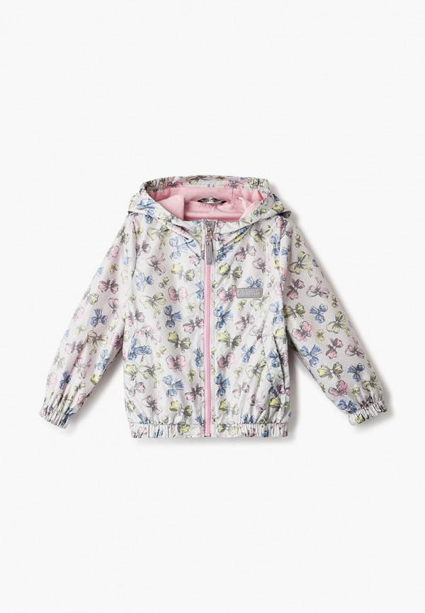 легкие куртка saima для девочки, серая