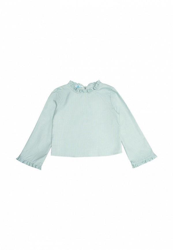 блузка sonata kids для девочки, голубая