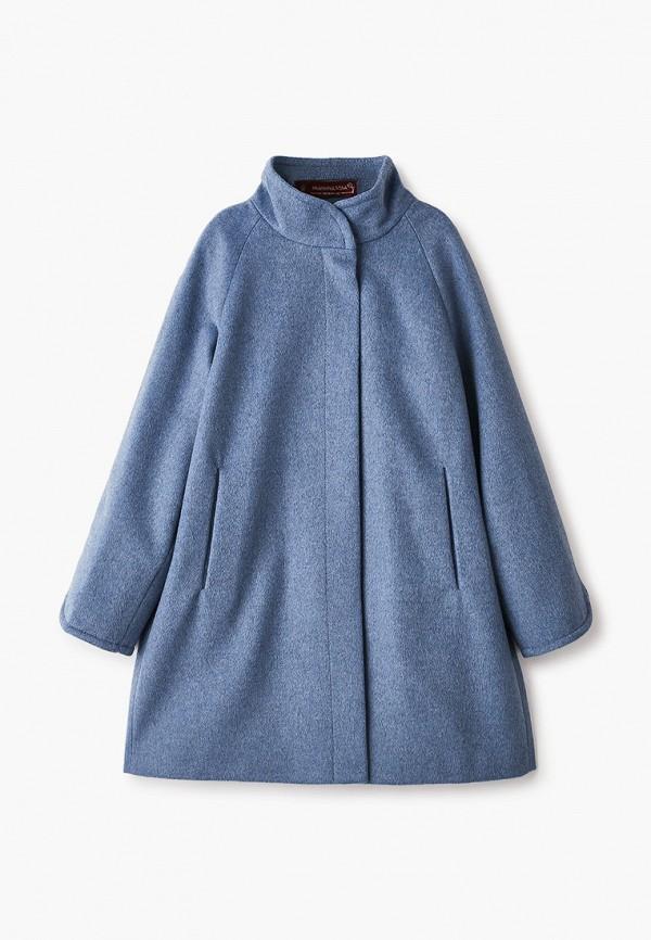 Пальто Mamma Mila! Mamma Mila!  синий фото