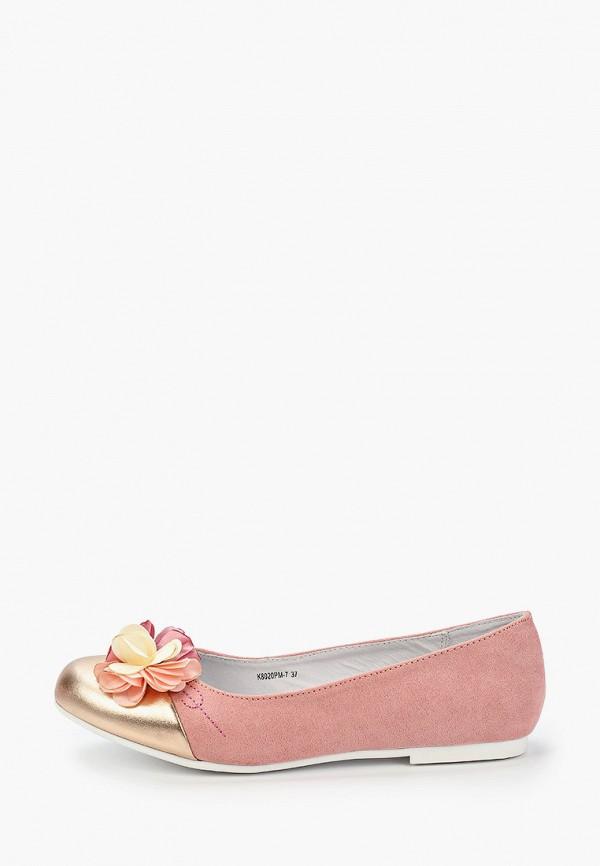 балетки t.taccardi для девочки, розовые