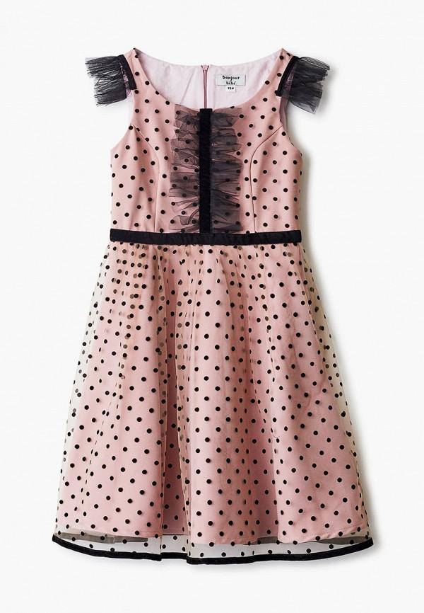 Платье Bonjour Bebe Bonjour Bebe MP002XG00UNB обувь на высокой платформе bebe