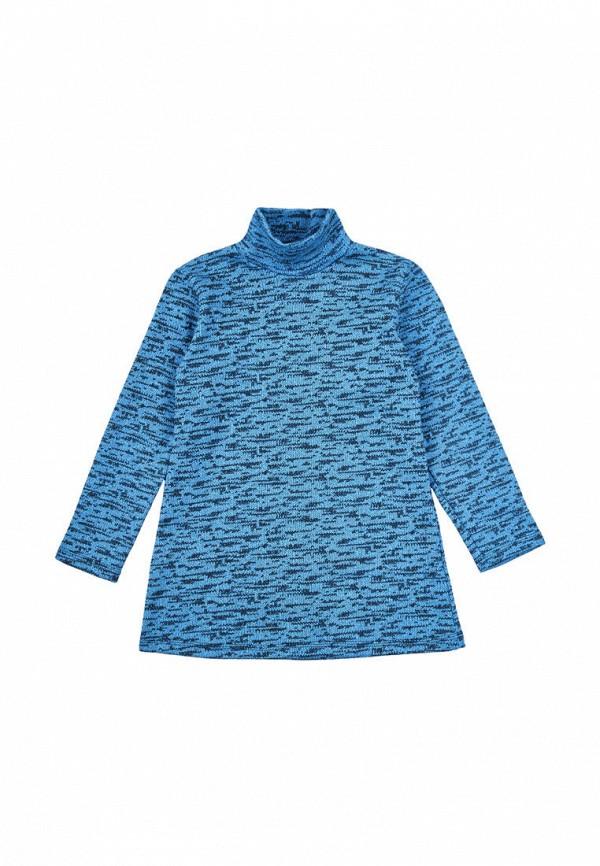 водолазка малыш style для девочки, синяя