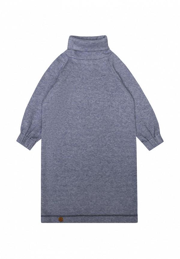 повседневные платье i am для девочки, голубое