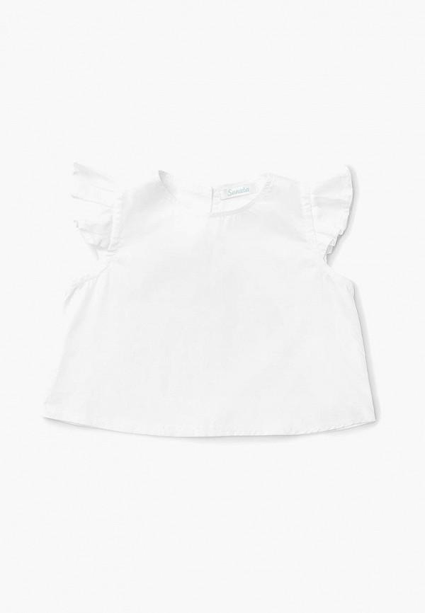 блузка sonata kids для девочки, белая