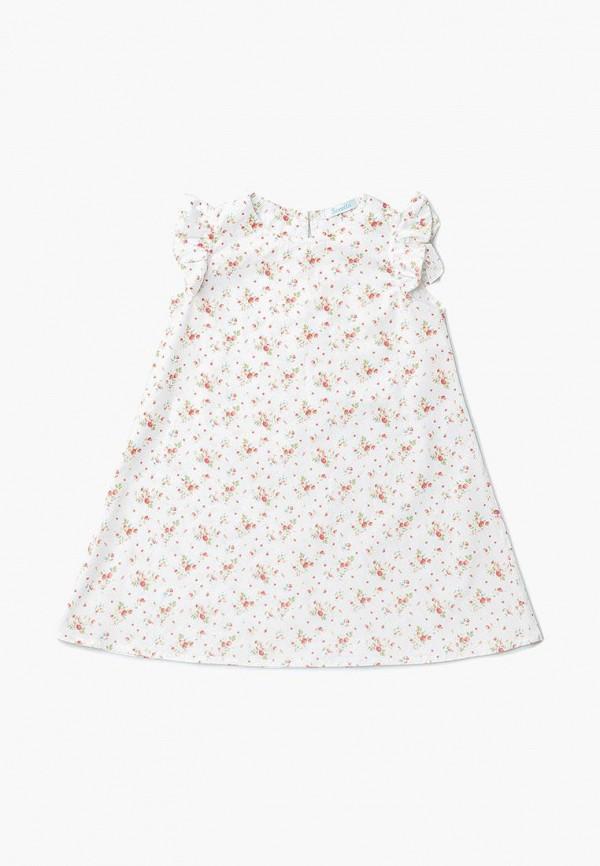 повседневные платье sonata kids для девочки, белое